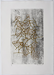 Metallic Joy, a Collograph by Falkenstein Claire