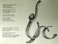 Motets, a Drypoint by Virginio Ferrari
